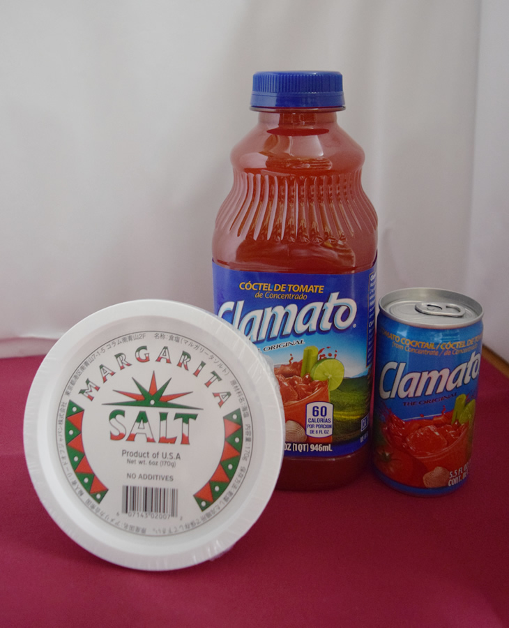 マルガリータソルト,クラマトトマトジュース